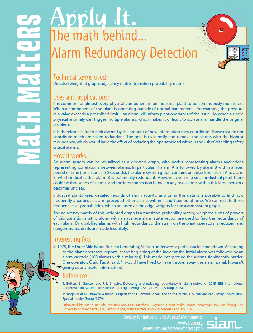math behind Alarm Redundancy Detection