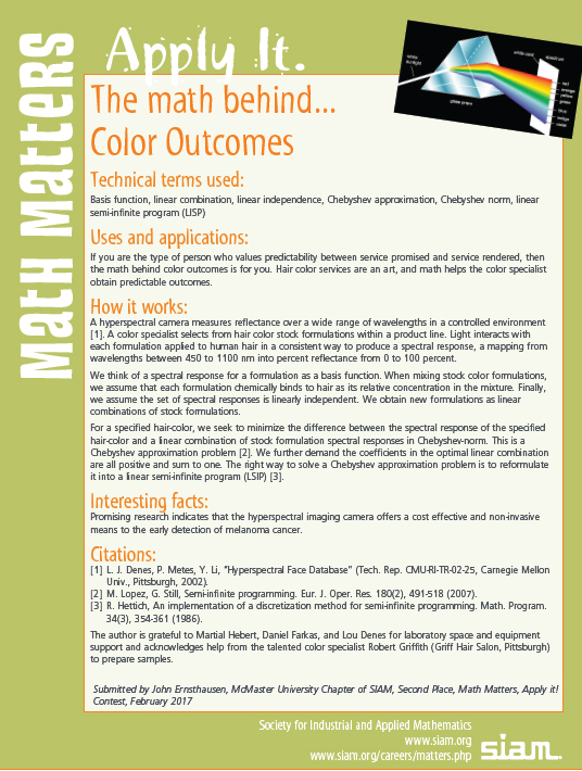math behind color outcomes