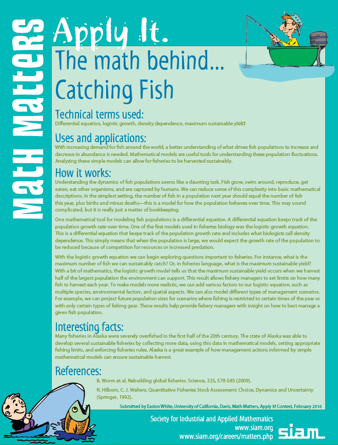 math behind Catching Fish
