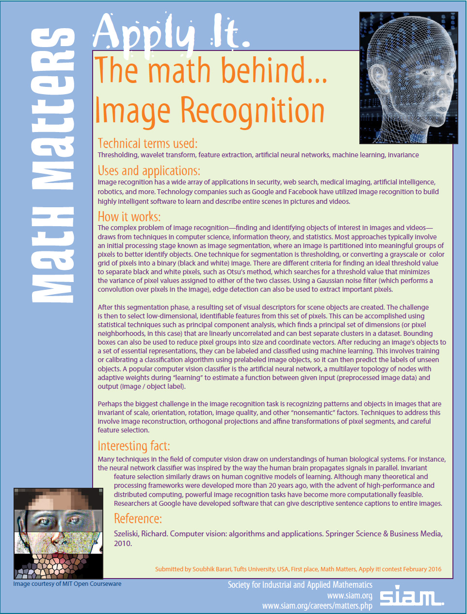 math behind Image Recognition