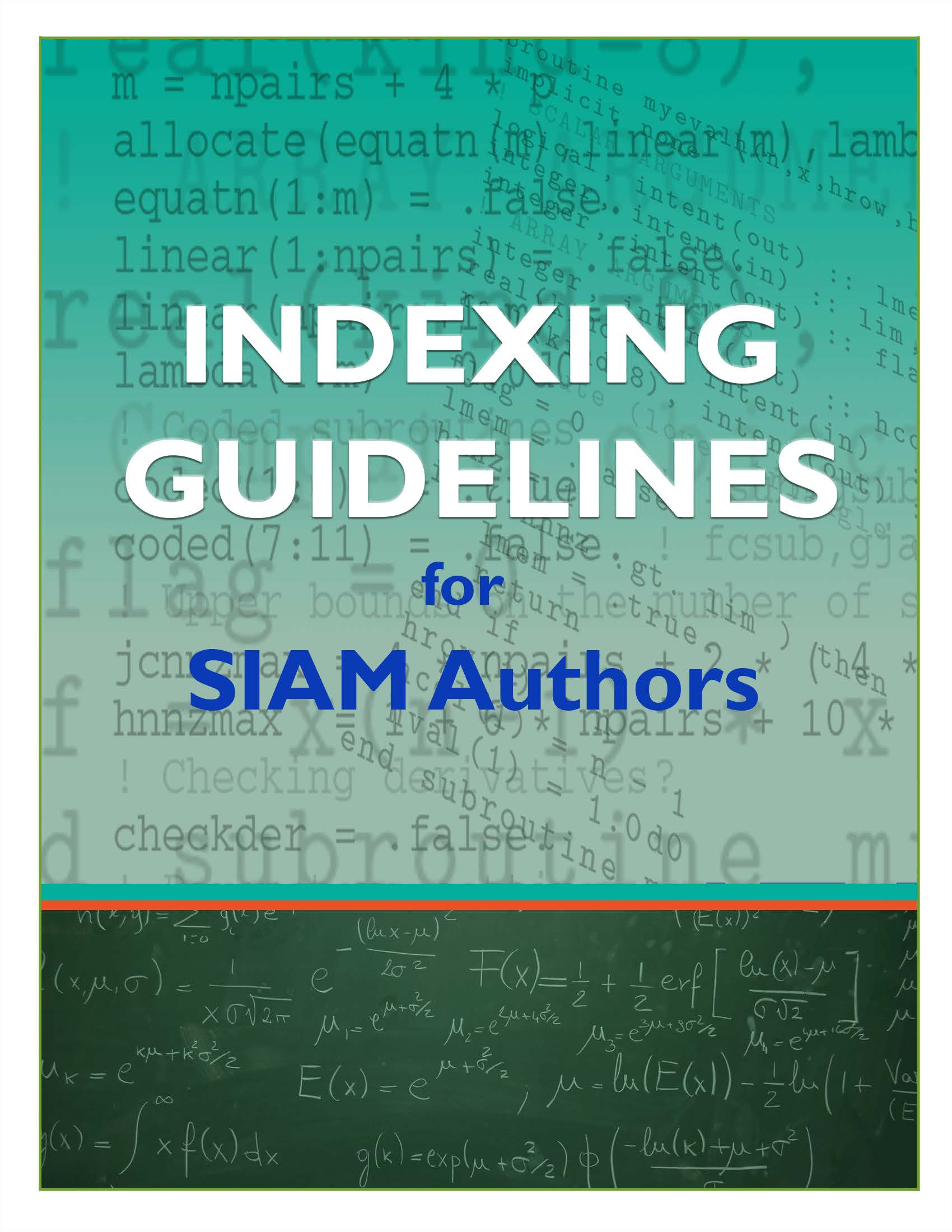 Indexing Guidelines