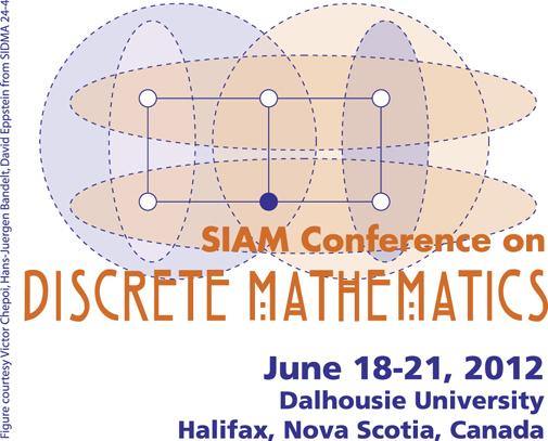 Logo for the 2012 SIAM Conference on Discrete Mathematics