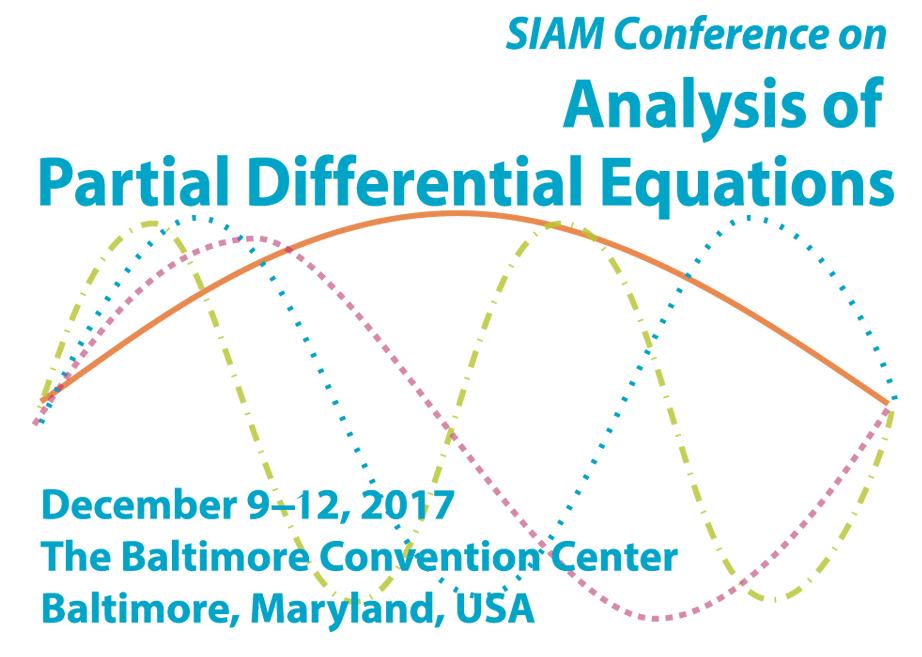 SIAM: SIAM Conference on Analysis of Partial Differential Equations (PD17)